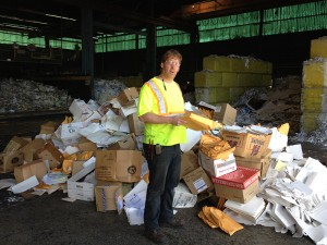 Brads Junk Removal offers paper recycling