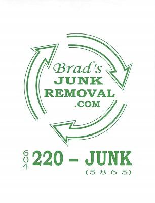 Brad's Junk Removal Richmond and Surrey BC