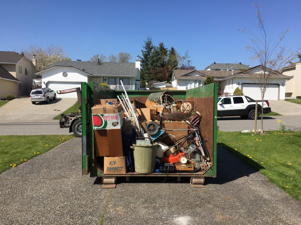 residential junk removal in bin surrey